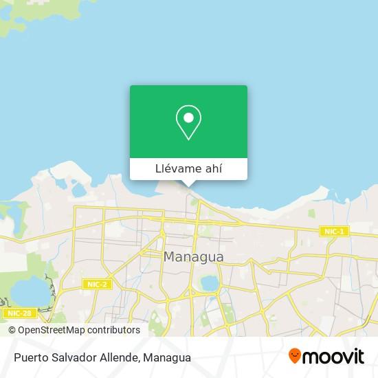 Mapa de Puerto Salvador Allende