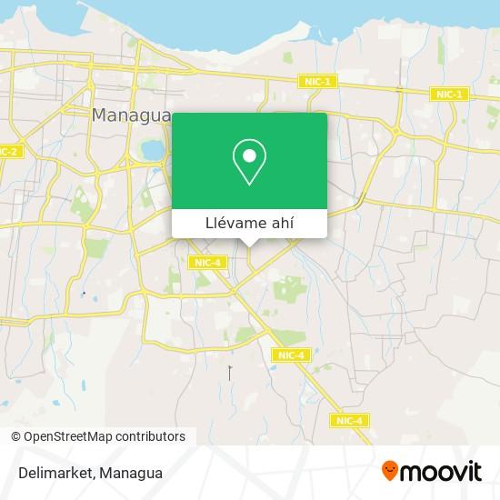 Mapa de Delimarket