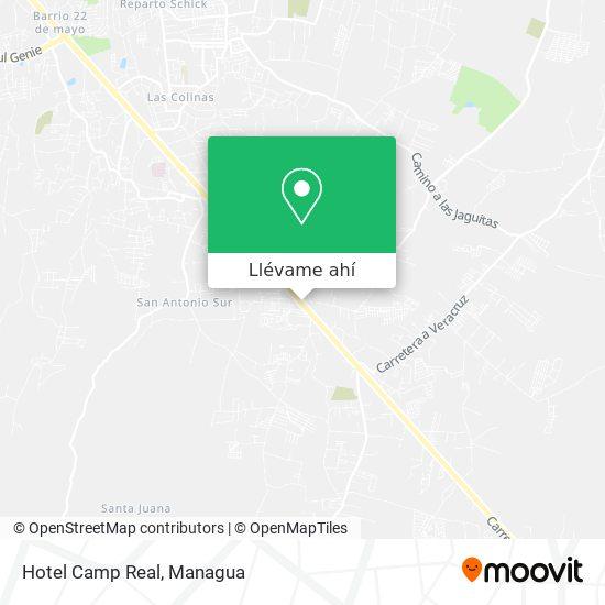Mapa de Hotel Camp Real
