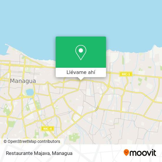 Mapa de Restaurante Majava