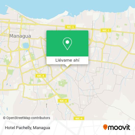 Mapa de Hotel Pachelly