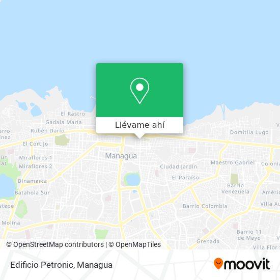 Mapa de Edificio Petronic