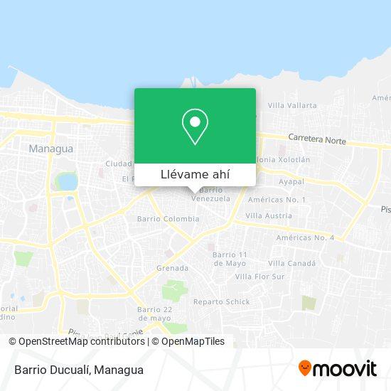 Mapa de Barrio Ducualí