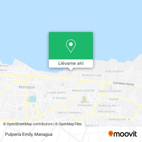 Mapa de Pulperia Emily