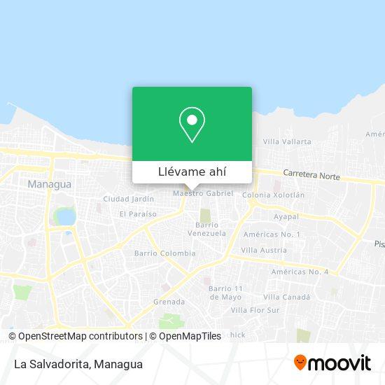 Mapa de La Salvadorita
