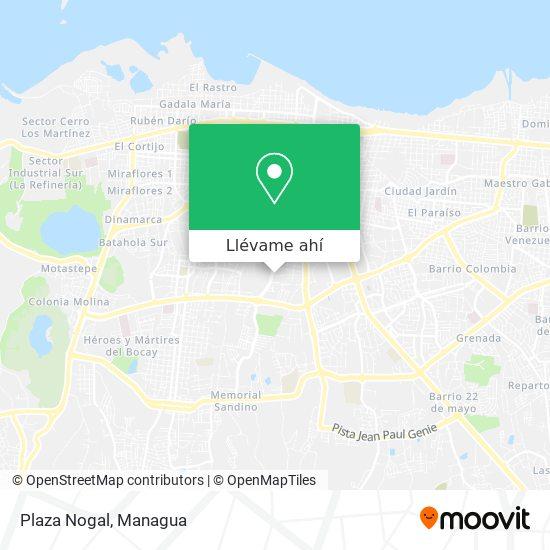 Mapa de Plaza Nogal