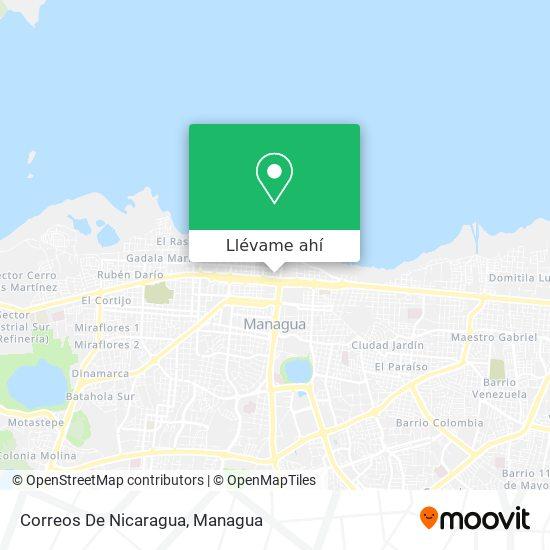 Mapa de Correos De Nicaragua