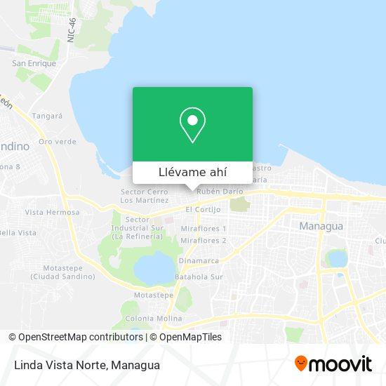 Mapa de Linda Vista Norte