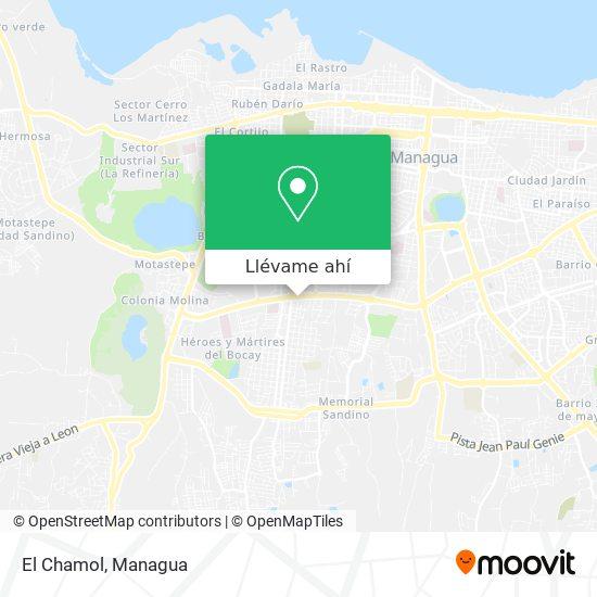 Mapa de El Chamol