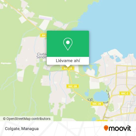 Mapa de Colgate
