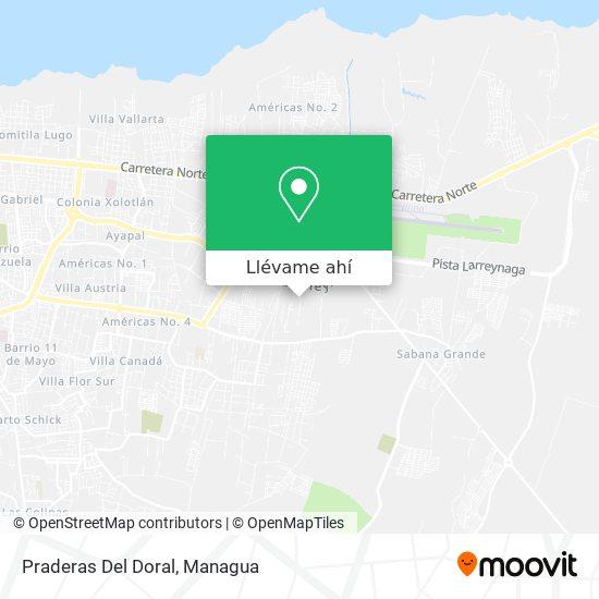Mapa de Praderas Del Doral