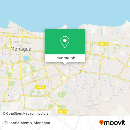 Mapa de Pulperia Memo