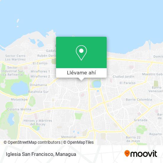 Mapa de Iglesia San Francisco