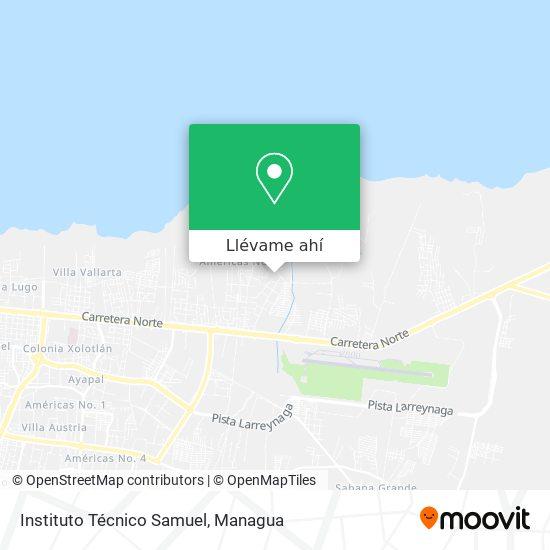 Mapa de Instituto Técnico Samuel