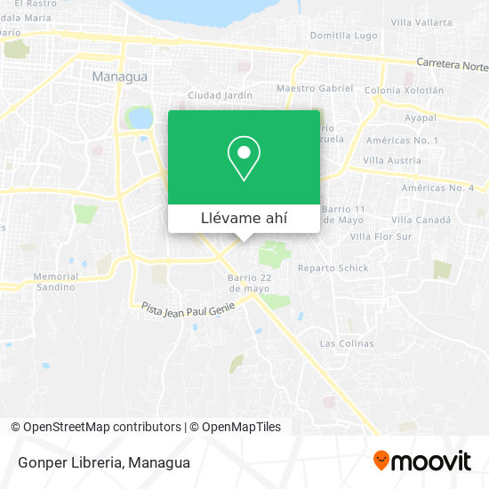 Mapa de Gonper Libreria