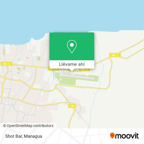 Mapa de Shot Bar