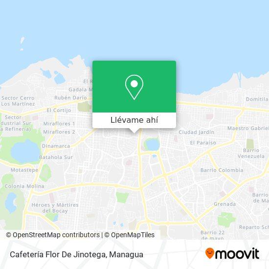 Mapa de Cafeteria Flor De Jinotega