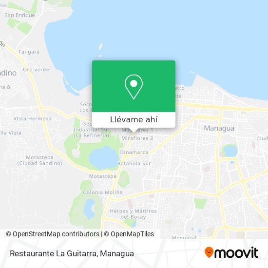 Mapa de Restaurante La Guitarra