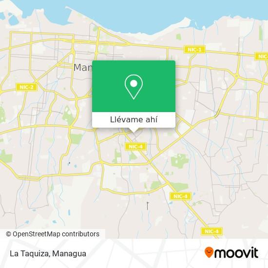 Mapa de La Taquiza