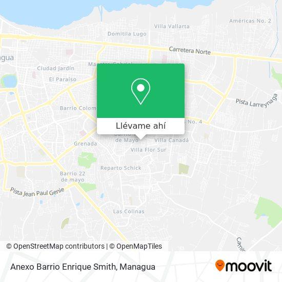 Mapa de Anexo Barrio Enrique Smith