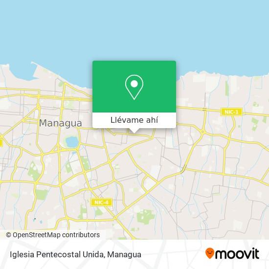 Mapa de Iglesia Pentecostal Unida