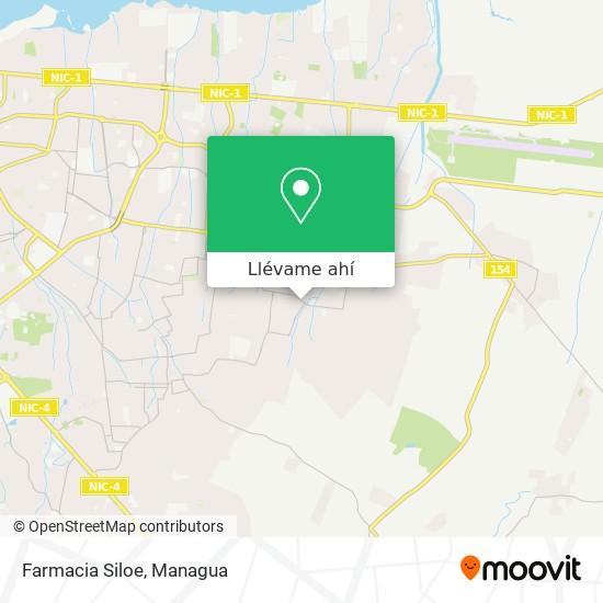 Mapa de Farmacia Siloe