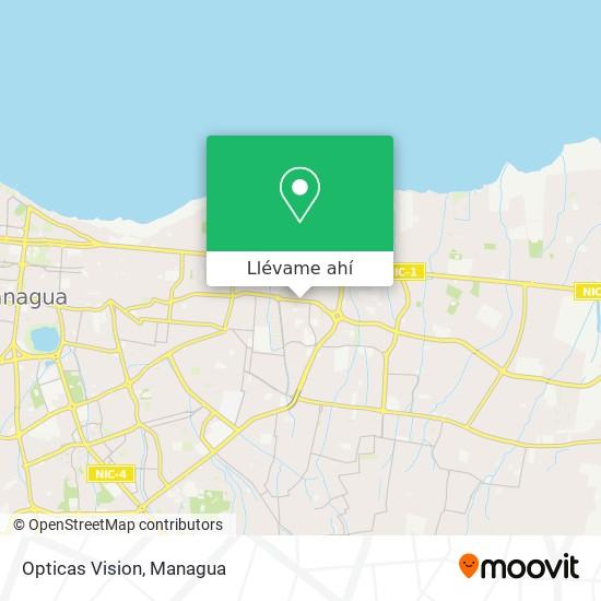 Mapa de Opticas Vision