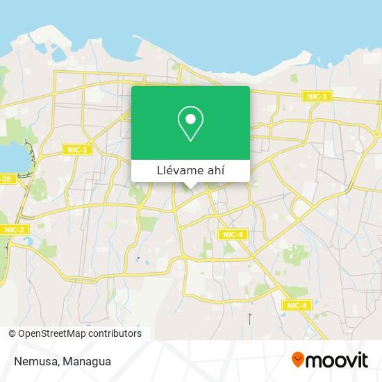 Mapa de Nemusa