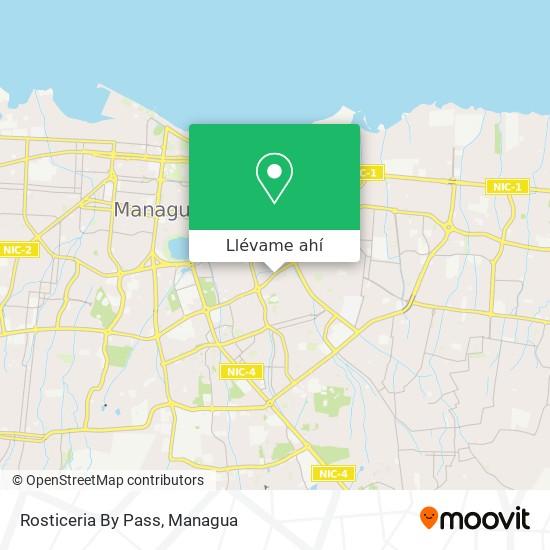 Mapa de Rosticeria By Pass