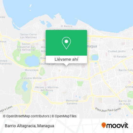 Mapa de Bertha Calderon