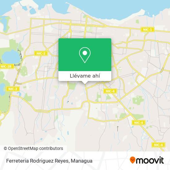 Mapa de Ferreteria Rodriguez Reyes