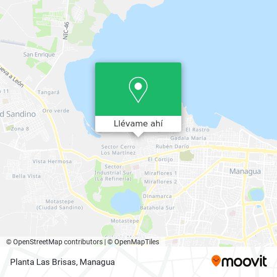 Mapa de Planta Las Brisas