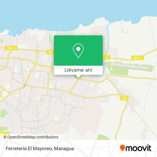 Mapa de Ferretería El Mayoreo