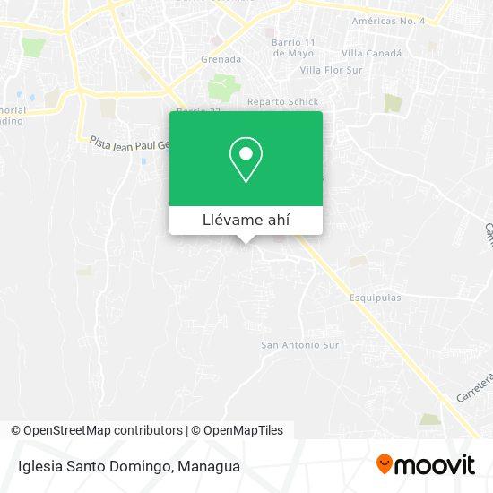 Mapa de Iglesia Santo Domingo