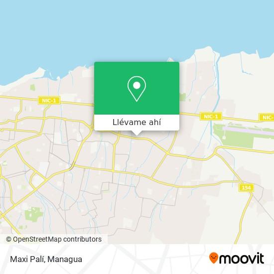 Mapa de Maxi Palí