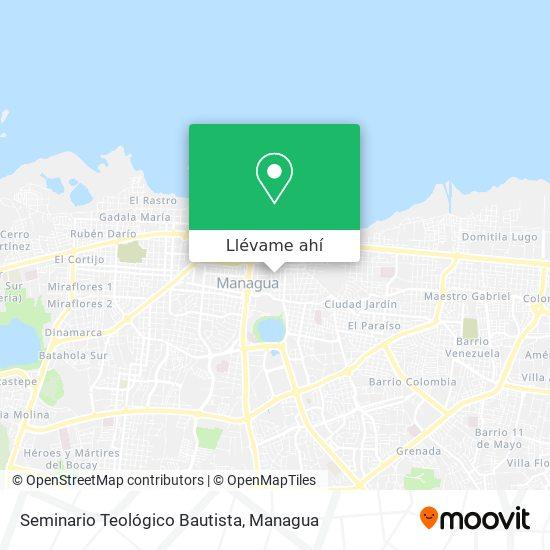 Mapa de Seminario Teológico Bautista