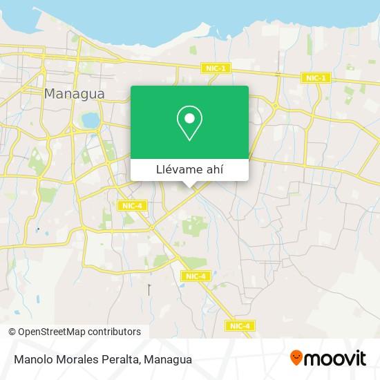 Mapa de Manolo Morales Peralta
