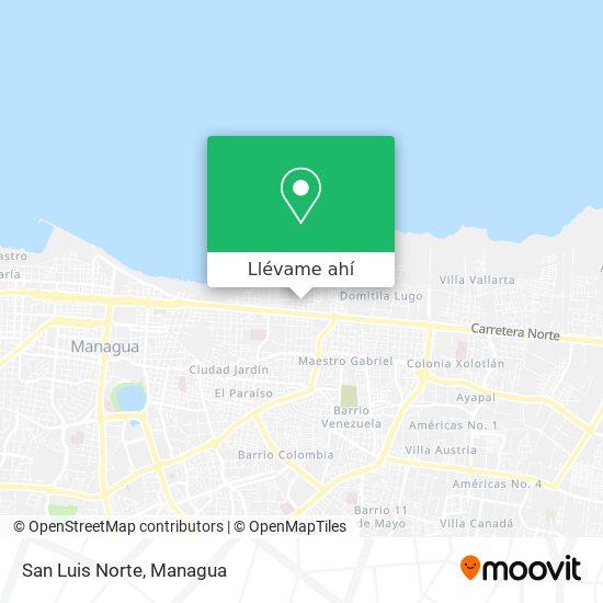 Mapa de Barrio Pedro Joaquín Chamorro