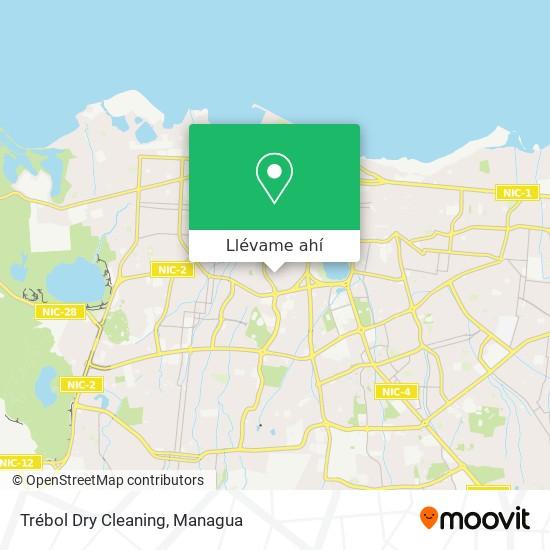 Mapa de Trébol Dry Cleaning