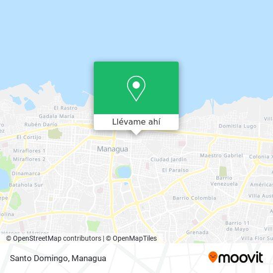 Mapa de Residencial Santo Domingo