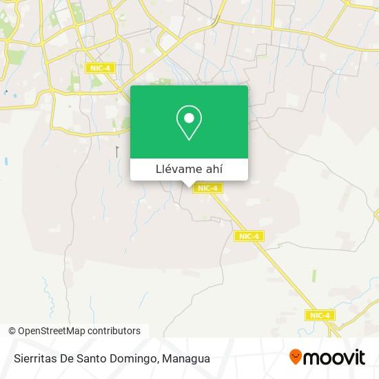 Mapa de Sierritas De Santo Domingo