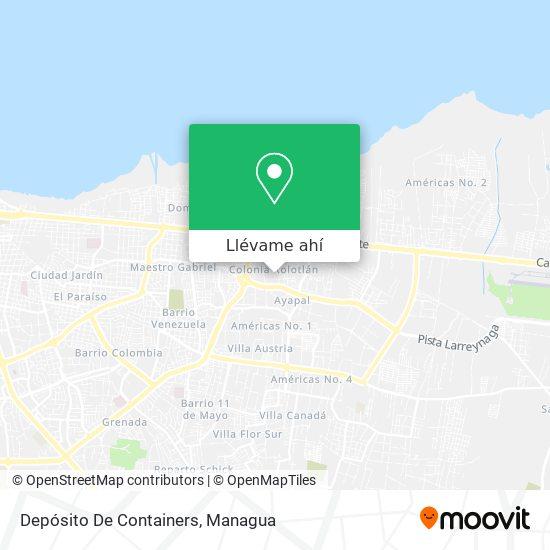 Mapa de Distrito Vi De La Alcaldía.