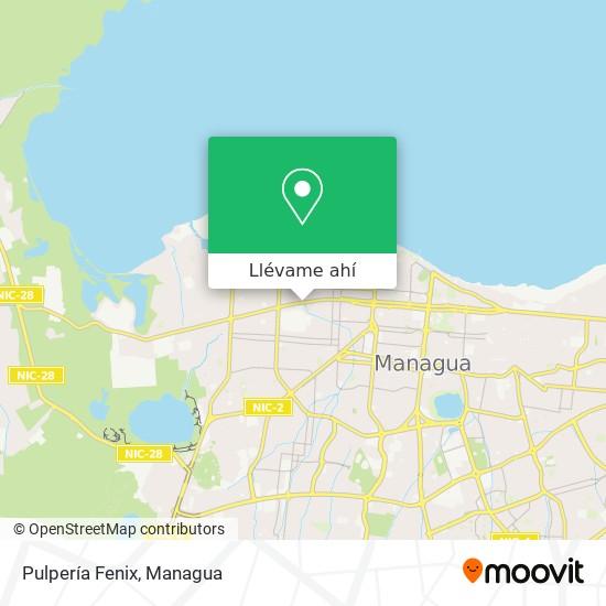 Mapa de Pulpería Fenix