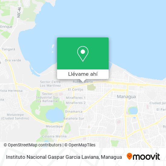 Mapa de Instituto Nacional De Gaspar Garcia