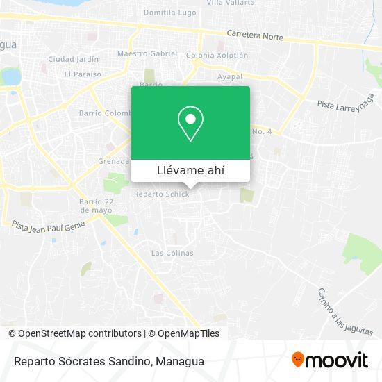 Mapa de Reparto Socrates Sandino