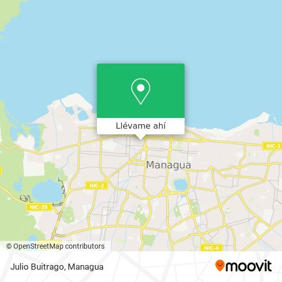 Mapa de Julio Buitrago