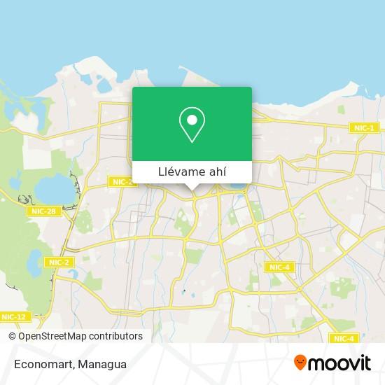 Mapa de Economart