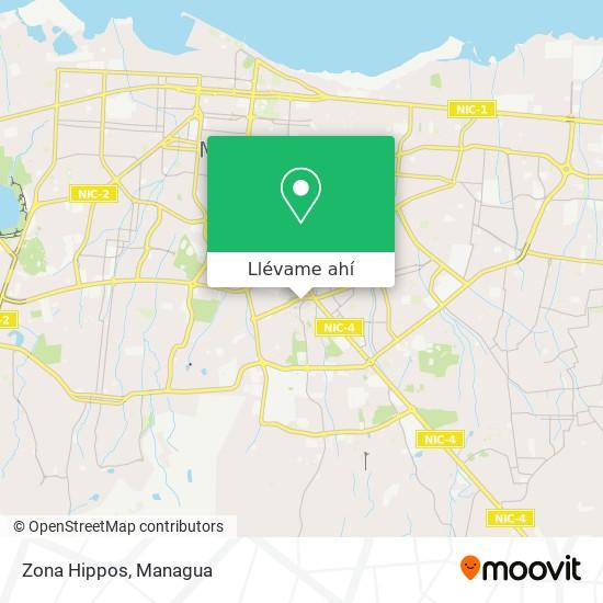 Mapa de Zona Hippos