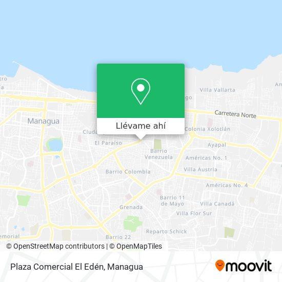 Mapa de Plaza Comercial El Eden