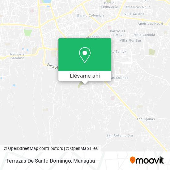 Mapa de Terrazas De Santo Domingo